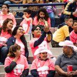 El Estadio Puma apoyando a la causa contra el cáncer de mama